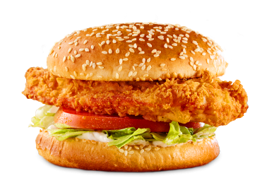 Hand-Breaded Crispy Chicken Sandwich