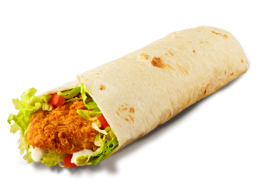 Hand-Breaded Crispy Chicken Wrap