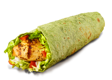 Charcoal Broiled Chicken Wrap
