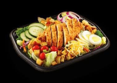 Crispy Hand-Breaded Chicken Salad